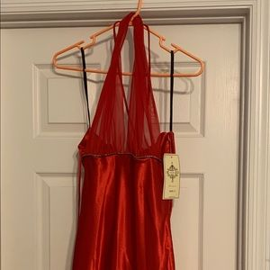 Red formal dress NWT